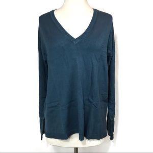 Lane Bryant V Neck Knit Sweater Size 14/16